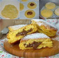 Focaccine dolci alla nutella ricetta veloce e senza forno
