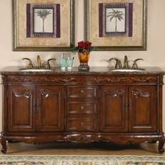 @Overstock - There is ample storage room with this elegant vanity, which features four doors and three drawers. A perfect addition to any bathroom, this piece also includes brass hardware and detailed accents.http://www.overstock.com/Home-Garden/Silkroad-Exclusive-Stone-Counter-Top-Double-Sink-Cabinet-72-inch-Bathroom-Vanity/6309156/product.html?CID=214117 $1,384.99