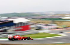 Felipe Massa of Brazil and Ferrari drives during qualifying