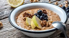 tummy tox recipes, almond butter oatmeal recipe, tummy tox breakfast recipes, dr oz tummy tox recipes