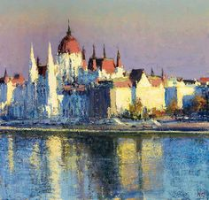 Budapest, as seen by Andrew Gifford