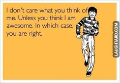 I don't care what you think of me  #funnypictures #lmao #hilarious #funnypics…