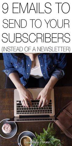 You've built up your email list and you know how valuable it is as a business tool. So stop sending boring newsletters and start engaging with your subscribers! Here are 9 awesome emails to send to your subscribers instead. These will help you increase engagement and to help monetize your blog as well as increase your email open rates!