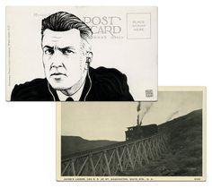 Twin Peaks en postales: Misterio ilustrado por Paul Willoughby