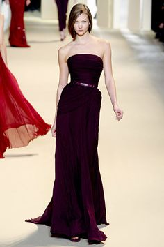 Elie Saab RTW Fall 2011  Love this purple, love everything Elie Saab.