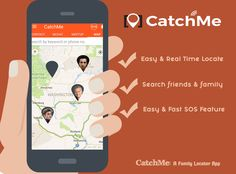 Ensure the safety of your close ones with #CatchMe: A Family Locator App! Some brilliant benefits are as follows. •Easy & Real Time Locate •Search friends & family •Easy & Fast #SOS Feature Download the app now from www.tiny.cc/CatchMe