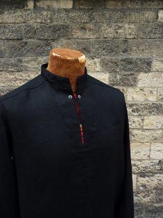 """pánská košile \""""sůva\"""" Jitka Kellerová www.jitkakellerova.cz Athletic, Zip, Jackets, Fashion, Down Jackets, Moda, Athlete, Fashion Styles, Deporte"""