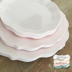 The Vineyard Estate Mod Party Plates. Party Plates, Dinner Plates, Disposable Wedding Plates, Baby Event, Plastic Plates, Blush Roses, Classic Elegance, Wedding Events, Color Schemes