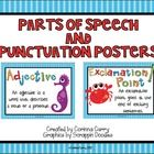 This file includes 5 parts of speech posters and 3 punctuation posters with an ocean or beach theme!  $1.50