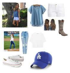 """""""Jojo fletcher inspired"""" by loverrrrr on Polyvore featuring Frame, Vince, Converse and '47 Brand"""