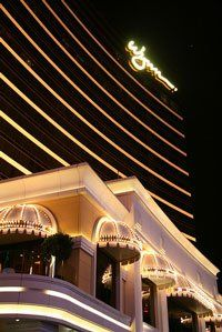 Wynn Macau opened in Sept. 2006 with around 212 table games and 375 slot machines and approx 100,000 sq. ft. of casino gaming space.
