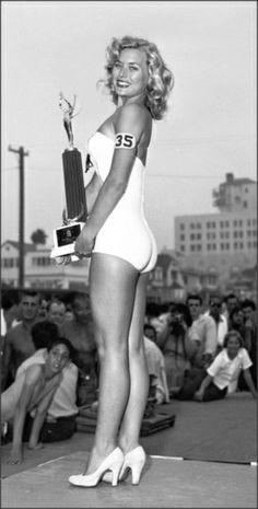 Vintage pageant winner