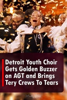 """The Detroit Youth Choir electrifies with every performance, reinventing classic songs by filling them with soul. This time they've lifted the level of the delivery, harmony, and pure energy in a Macklemore and Ryan Lewis hit """"Can't Hold Us."""" #AGT #AmericasGotTalent #AGTFinals #DetroitYouthChoir #DYCOfficial #simoncowell #music #howiemandel #terrycrews #juliannehough #choir #talent #singing #Detroit America's Got Talent Videos, Howie Mandel, Terry Crews, Simon Cowell, Classic Songs, Choir, Looking Back, Detroit, The Voice"""