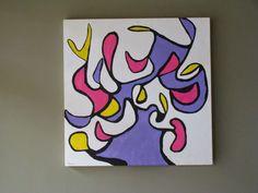 My Art:  My Feeling 2003 90 x 90 Acrylic