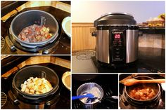 Venison Stew - a pressure cooker is the perfect tool to tenderize venison