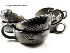 Set of 6 soup mug / soup bowl/ peacock feather by Ningswonderworld, $165.00
