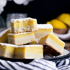 Giving regular ol' lemon squares a facelift in these zippy Ginger Lemon Bars with my absolute favorite cream cheese shortbread