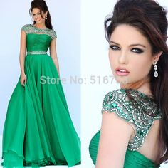 Cheap fashion stationary, Buy Quality fashionable mini dresses directly from China dresses fashion 2012 Suppliers: High Fashion Beaded Top Cap Sleeve Ruched Top Graduation Luxury Emerald Green Chiffon Long Prom Dress 2015 Open Back&nbs