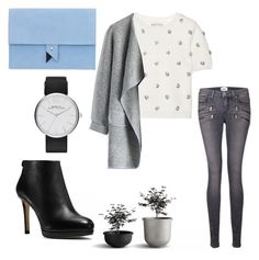 ⛅️☁️ by betti-nyilas on Polyvore featuring polyvore, fashion, style, Alice + Olivia, Chicwish, Paige Denim, MICHAEL Michael Kors, Dora and Marc by Marc Jacobs