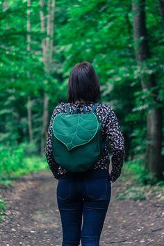 CUSTOM Leaf Boho Backpack Women's by LeaflingBags on Etsy