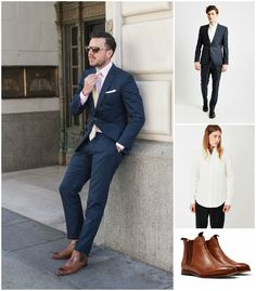 What to wear with tan boots | Shop the look now at The Idle Man | #StyleMadeEasy