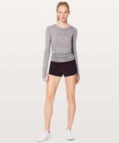 """Lululemon Speed Up Short *2.5"""" - Black Cherry - lulu fanatics Low Rise Shorts, Lululemon, Short Dresses, Women's Shorts, Shopping, Cherry, Black, Workout, Luxury"""