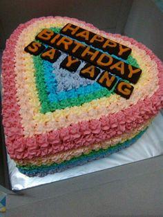 134 Best Kue Ulang Tahun Images Cake Desserts Cake