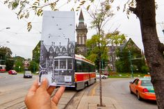 Traveling through time on the Spadina Streetcar #Toronto #Canada