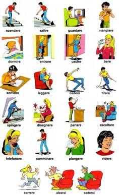 Studiamo italiano :: Vocabolario italiano illustrato :: Video didattici
