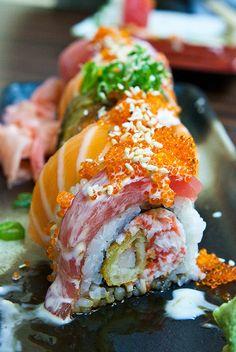 Lobster and Shrimp Tempura Roll