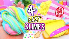 How To Make Slime with Baby Powder and Shampoo without Glue! DIY Slime without Glue by JellyRainbow! In this how to make slime with baby powder, water, no bo. Jelly Slime, Slime No Glue, Slime Craft, Diy Slime, Water Slime, Borax Slime, Ways To Make Slime, How To Make Glue, Diy Fluffy Slime
