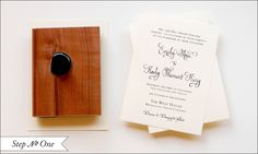 Ink Stamps for Wedding Invitations