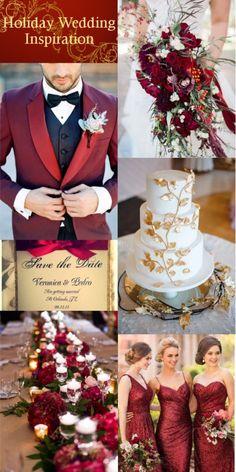 Christmas inspired wedding ideas to melt over!