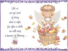 Adorable Little Angel of Ruth J. Morehead  Очаровательные ангелочки от Ruth J. Morehead (12 работ)