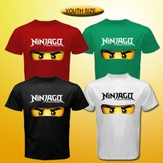 Ninjago tee logo lego game tv serial