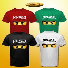 Ninjago tee logo lego game tv serial