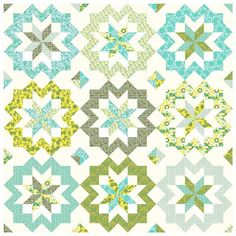 Quilting Mod by Afton Warrick: Recommended Quilt-Along - Star Surround