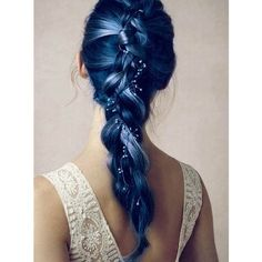 8 Romantic French Braided Hairstyles for Long Hair, You Cannot Miss ❤ liked on Polyvore featuring beauty products, haircare, hair styling tools, hair and hairstyles