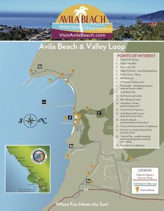 Looking for something fun to do this spring? Print out or download our Avila Beach Loop Map and see how many points of interest/activities you can complete!