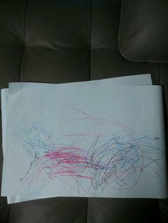 Kate's first drawing.