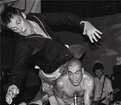 Black Flag at the Cuckoo's Nest, Costa Mesa, 1981. Maybe first LA-area show with Henry Rollins.