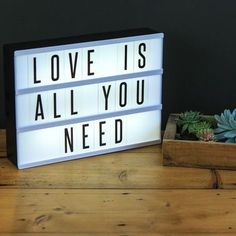 Cinema Light Box Sign By Www Goodwinandgoodwin Com My Stuff Pinterest Box Lights And Lightbox Quotes