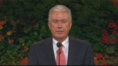 Of Things That Matter Most - President Uchtdorf. One of the best Conference talks EVER.