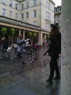 Square in the city of bath
