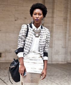How Real Women Wear Statement Necklaces #refinery29