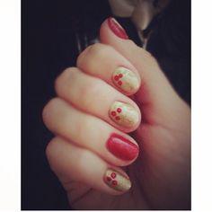 #nails #nailart #naildesign #design #art #colors #bright #summer #red #gold
