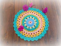 In & around my house Crochet Mandala, Crochet Doilies, Crochet Flowers, My House, Crocheted Flowers, Crochet Flower