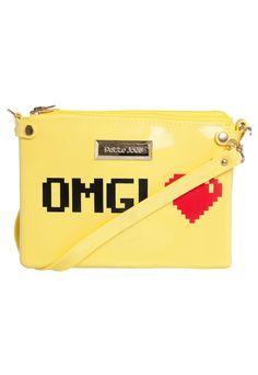 Bolsa Petite Jolie Amarela - Compre Agora | Dafiti Brasil