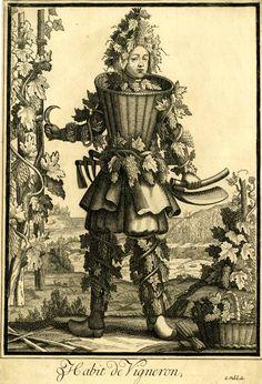 Nicolas-Larmessin-Costumes-Grotesques-Habit-metier-20 - La boite verte