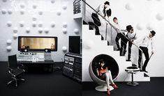 Delta Lab – First Designer Recording Studio by Thomas Troelsen » Yanko Design